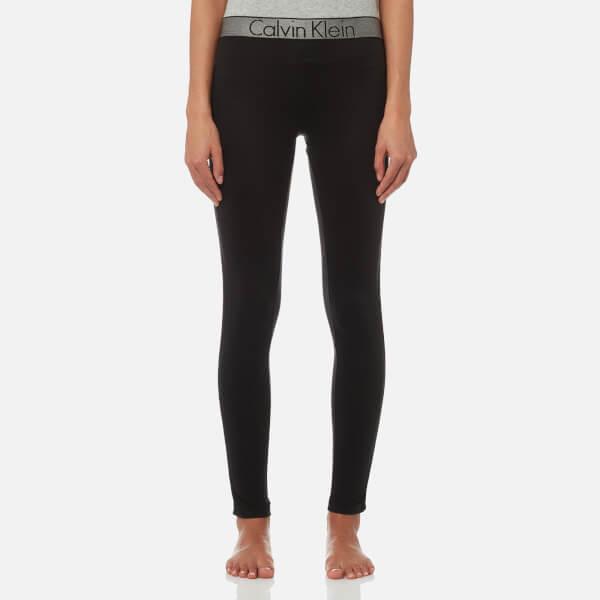 Calvin Klein Women's Logo Leggings - Black