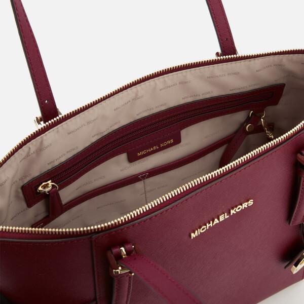 1b00df347b MICHAEL MICHAEL KORS Women s Jet Set East West Top Zip Tote Bag - Mulberry   Image