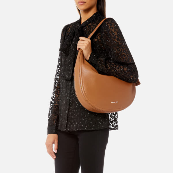 405add14848e MICHAEL MICHAEL KORS Women s Lydia Large Hobo Bag - Acorn  Image 3