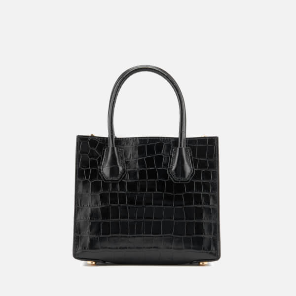 1ec606dedd95 MICHAEL MICHAEL KORS Women's Mercer Croc Medium Messenger Bag - Black:  Image 2