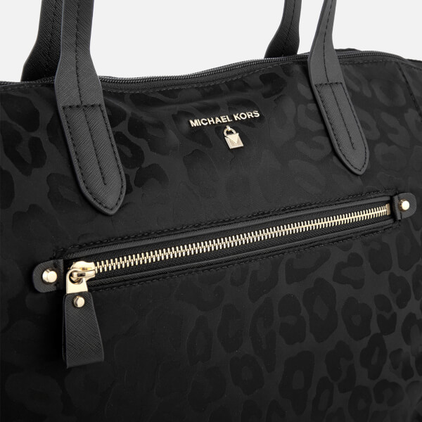 8eb9fb251b658b MICHAEL MICHAEL KORS Women's Kelsey Large Top Zip Tote Bag - Black: Image 4