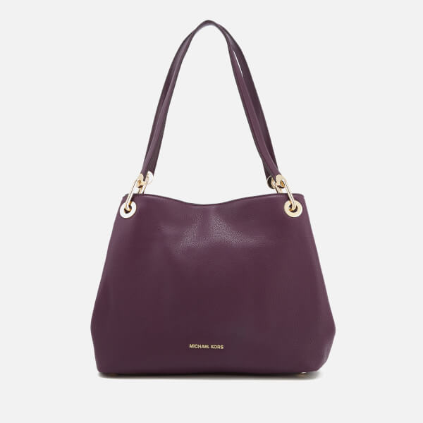 4c5576d5f466 MICHAEL MICHAEL KORS Women s Raven Large Shoulder Tote Bag - Damson  Image 1