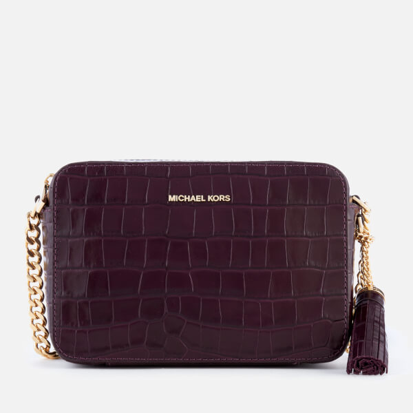 355a76ba8acf MICHAEL MICHAEL KORS Women's Ginny Medium Camera Bag - Damson: Image 1