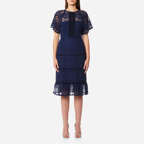 Foxiedox Women's Morganne Midi Dress - Navy