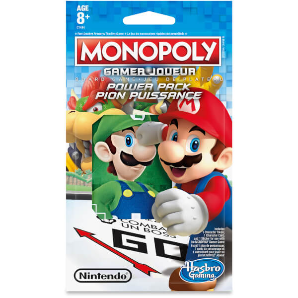 Hasbro Gaming Monopoly Gamer Figure Pack