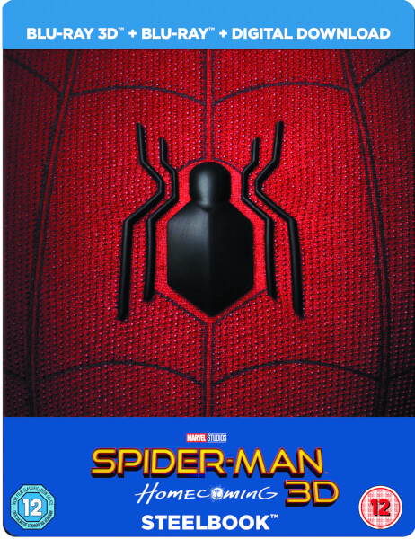 Spider-Man: Homecoming 3D (Inklusive 2D Version) - Limited Edition Steelbook