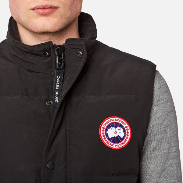 2eb0affc3c240c ... 50% off canada goose mens garson vest black image 4 d6995 abea5