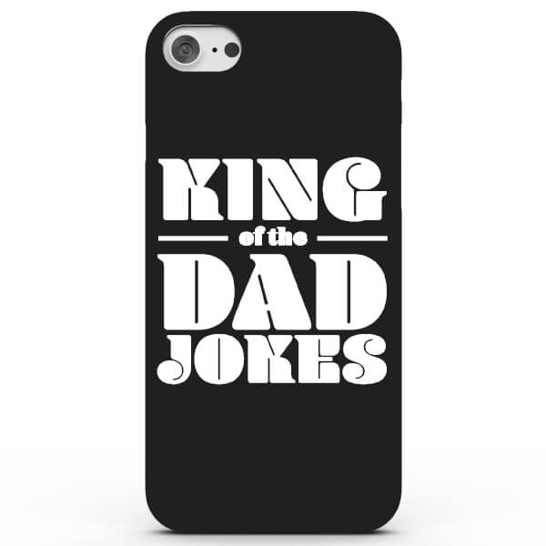 Coque iPhone & Android King of the Dad Jokes - 4 Couleurs