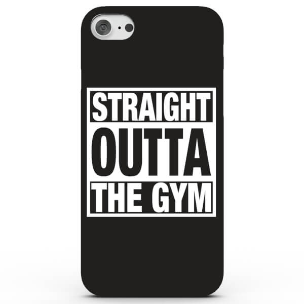 Coque iPhone & Android Straight Outta the Gym - 4 Couleurs