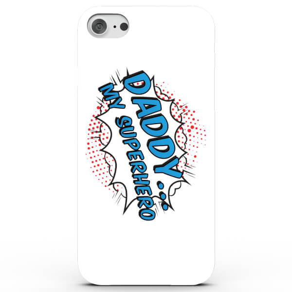 Coque iPhone & Android Daddy .. My Superhero - 4 Couleurs