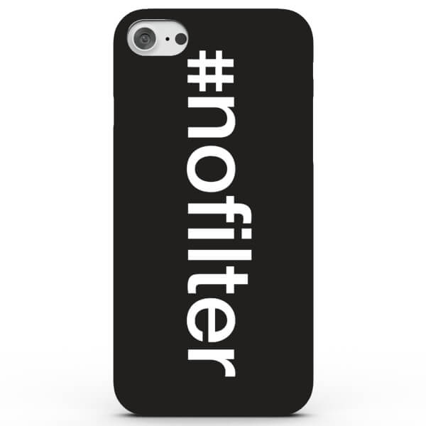 Coque iPhone & Android Hashtag No Filter - 4 Couleurs