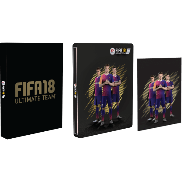 fifa 18 dition collector pour zavvi ps4. Black Bedroom Furniture Sets. Home Design Ideas