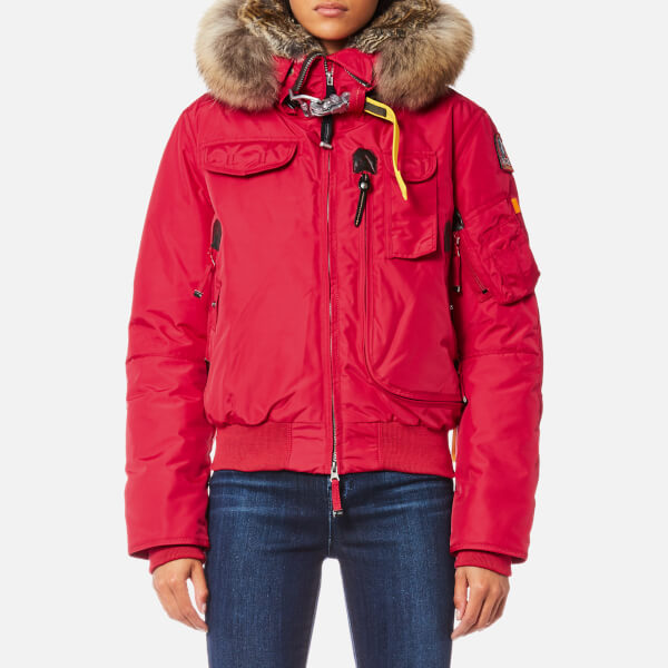Parajumpers Women's Gobi Masterpiece Coat - Dark Red: Image 1