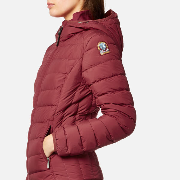 Parajumpers Women's Juliet Super Lightweight Coat - Dark Red: Image 4