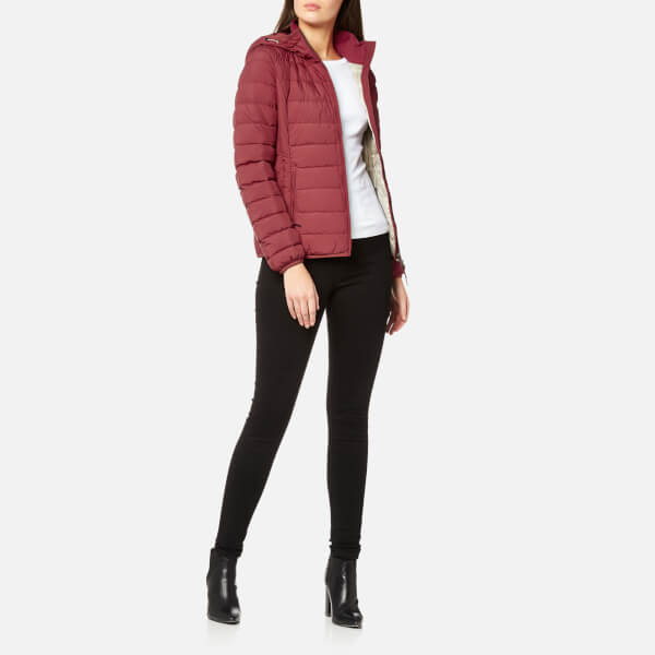 Parajumpers Women's Juliet Super Lightweight Coat - Dark Red: Image 3