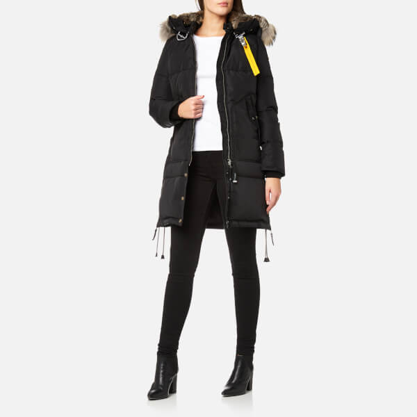 Parajumpers Women's Long Bear Masterpiece Coat - Black: Image 3