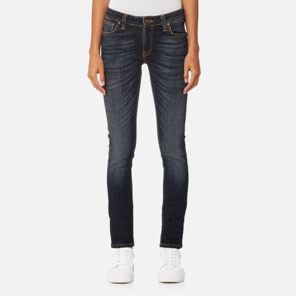 Nudie Jeans Women's Skinny Lin Jeans - Blue Motion