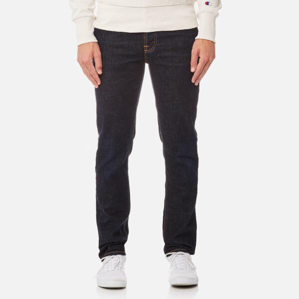 Nudie Jeans Men's Grim Tim Jeans - Indigo Layers