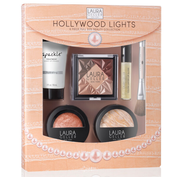 Laura Geller Hollywood Lights 6 Piece Beauty Collection - Fair (Worth £91)