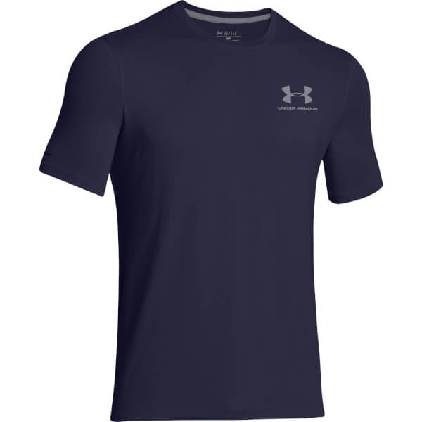 Under Armour Men's Sportstyle Left Chest Logo T-Shirt - Navy