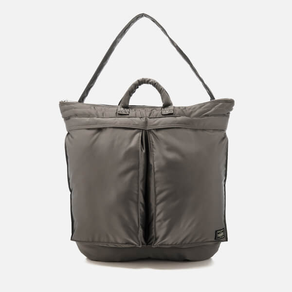 Porter-Yoshida & Co. Men's Tanker Helmet Bag - Grey