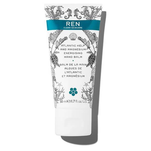 REN Atlantic Kelp and Magnesium Energising Hand Balm 50ml