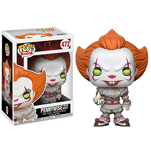 It Pennywise With Boat Pop Vinyl Figure Pop In A Box Us