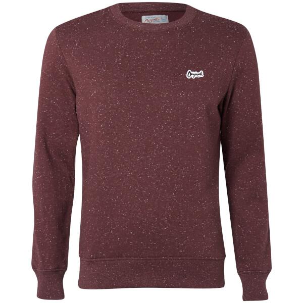 Jack & Jones Originals Men's Nepped Logo Sweatshirt - Sassafras