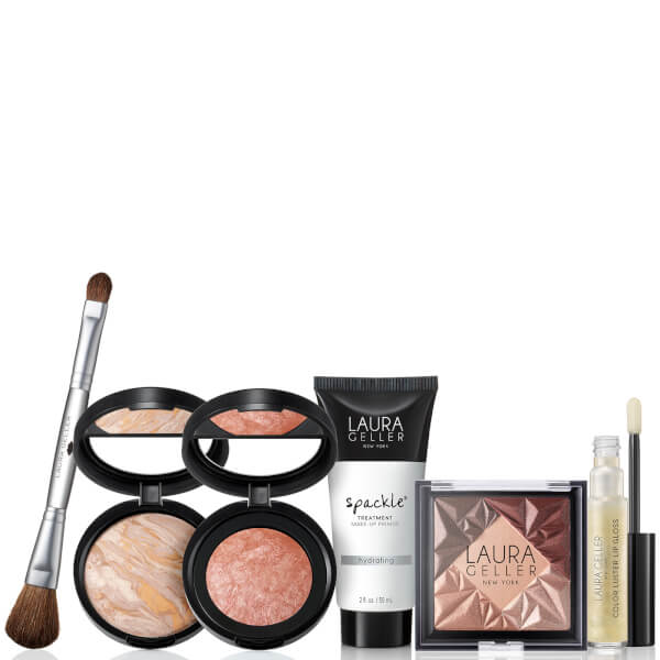 Laura Geller Hollywood Lights 6 Piece Full Size Beauty Collection - Fair