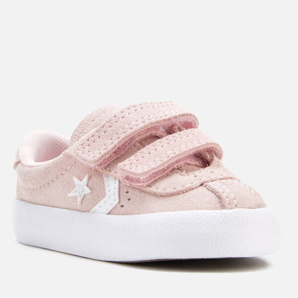 275b8a661a52 Converse Toddlers  Breakpoint 2V Suede Ox Trainers - Arctic Pink Arctic Pink  White
