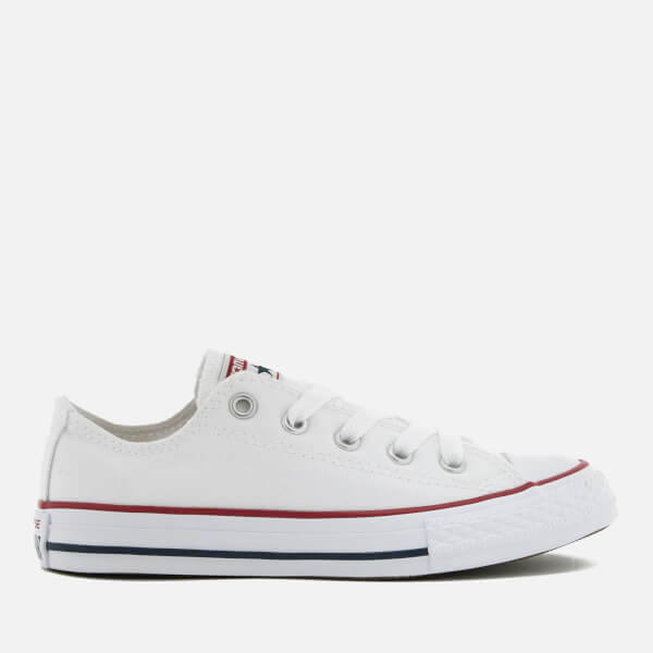 Converse Kids' Chuck Taylor All Star Seasonal Ox Trainers - Optical White