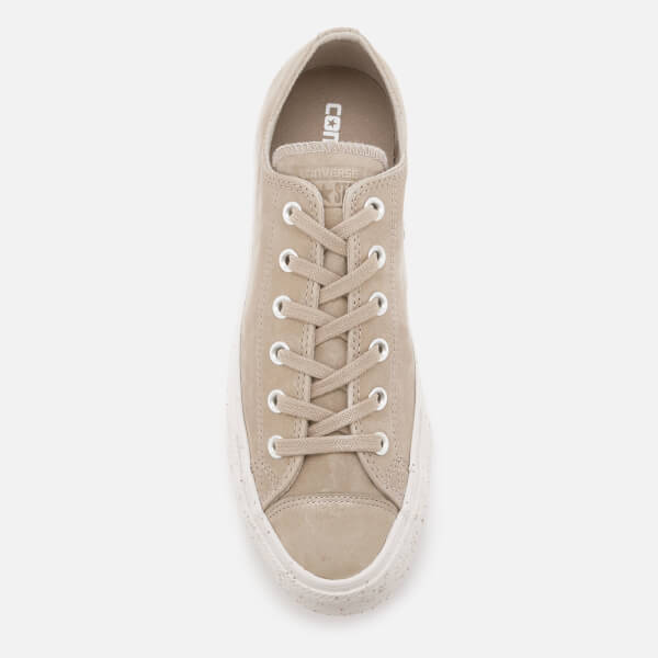 Converse Men s Chuck Taylor All Star Ox Trainers - Malted Engine Smoke Pale  Putty a2465bd9d