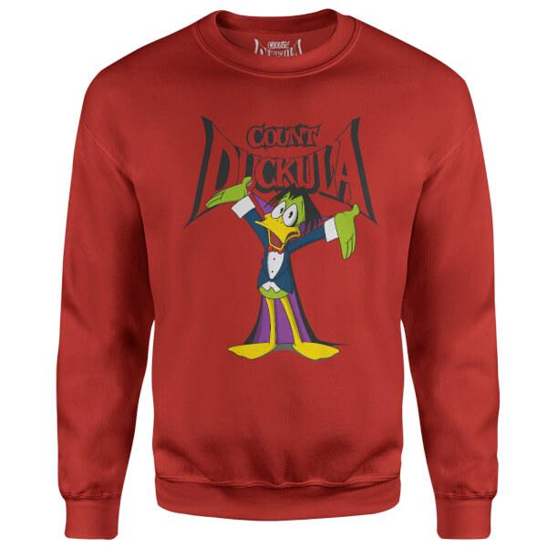 Count Duckula Welcome Logo Red Sweatshirt