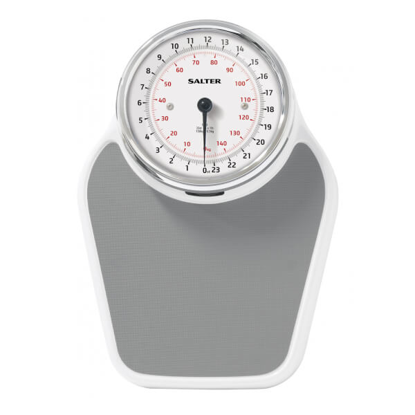 Salter Academy Mechanical Bathroom Scale   White: Image 2