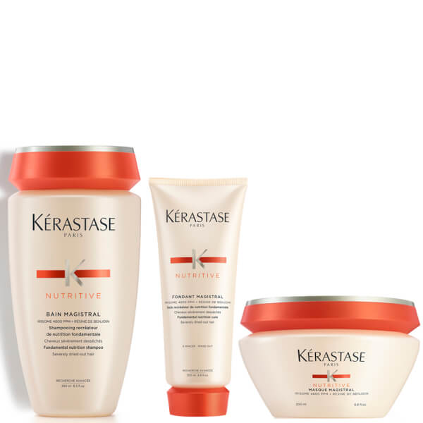 Kérastase Nutritive Shampoo, Conditioner and Hair Mask