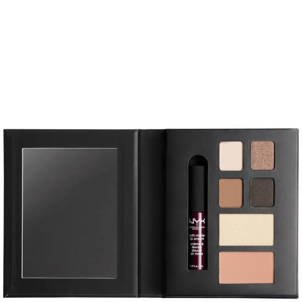 NYX Professional Makeup Wanderlust Lip, Eye & Face Palette - New York