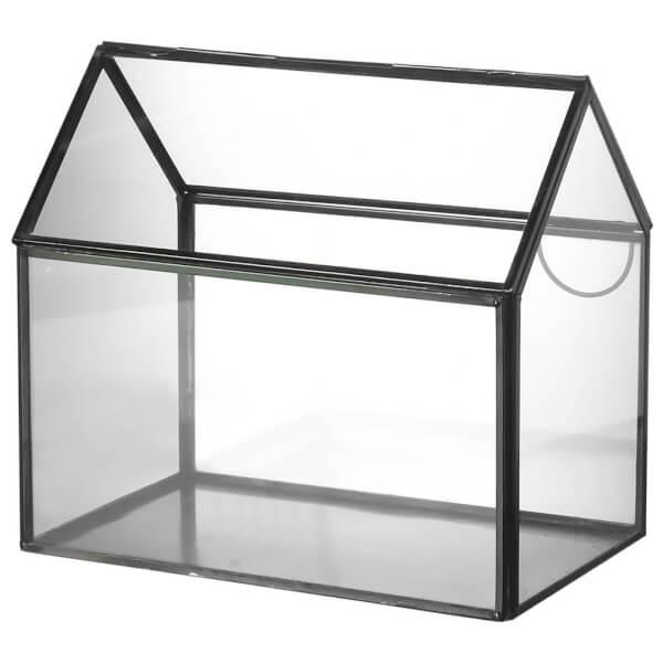 Parlane glass house terrarium 18 x 13cm