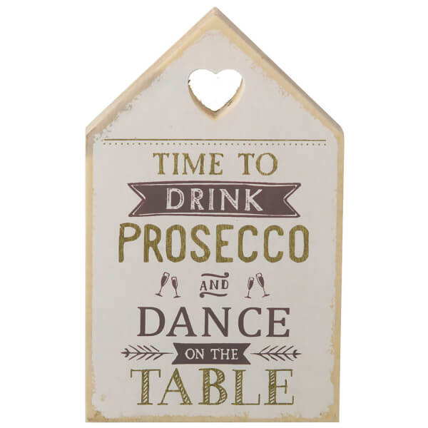 Parlane Drink Wooden Decorative Sign (18 x 11cm)