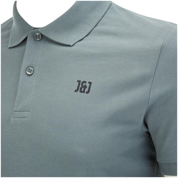 JACK AND JONES Mens Core Booster Polo Goblin Blue 6ZctN