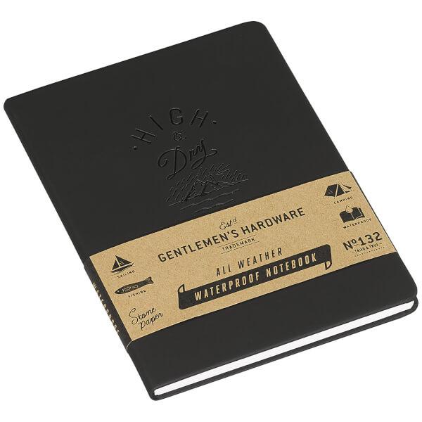 Gentlemen's Hardware Waterproof Notebook - Black