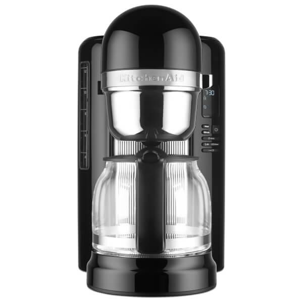 KitchenAid 5KCM1204BOB 12 Cup Drip Coffee Maker - Onyx Black Homeware TheHut.com