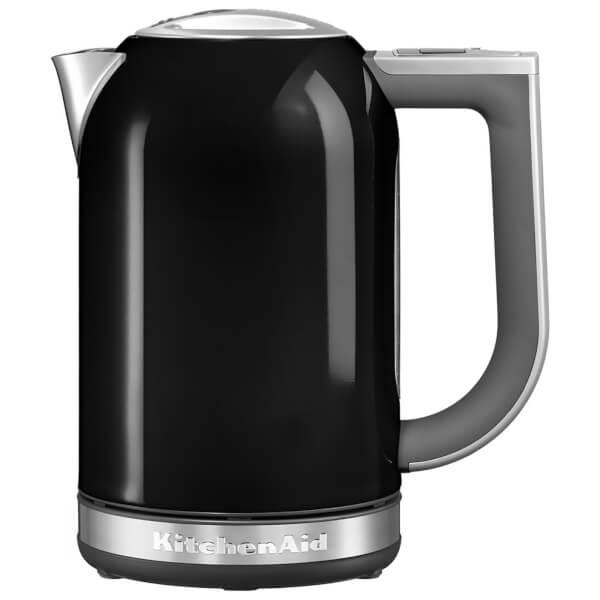 Black Kitchenaid Kettle: KitchenAid 5KEK1722BOB 1.7L Jug Kettle