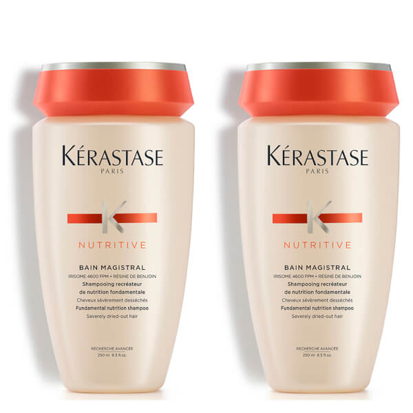 K rastase nutritive bain magistral 250ml duo spedizione for Kerastase bain miroir shine revealing shampoo