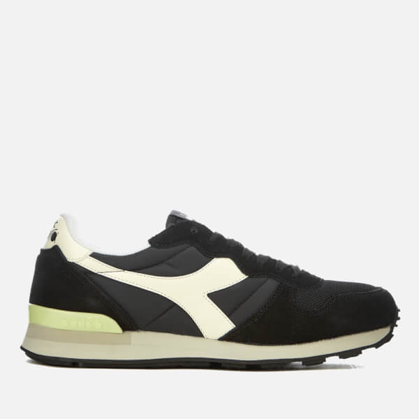 Diadora Men's Camaro Trainers - Black/Whisper White: Image 1