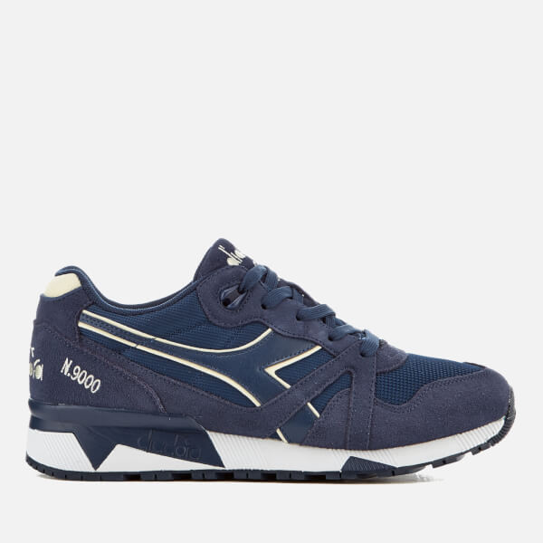 Diadora Men's N9000 III Trainers - Estate Blue/Antique White