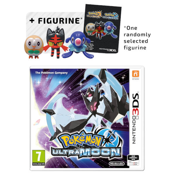 Pokémon Ultra Moon + Figurine