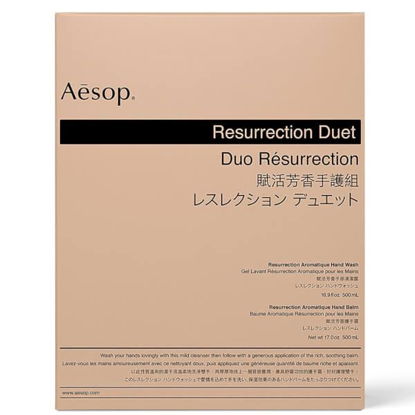Aesop Resurrection Hand Cleanser and Balm Duet