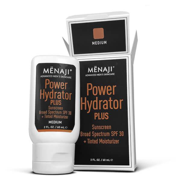 Menaji Power Hydrator PLUS Broad Spectrum Sunscreen SPF30 + Tinted Moisturiser - Medium 30ml