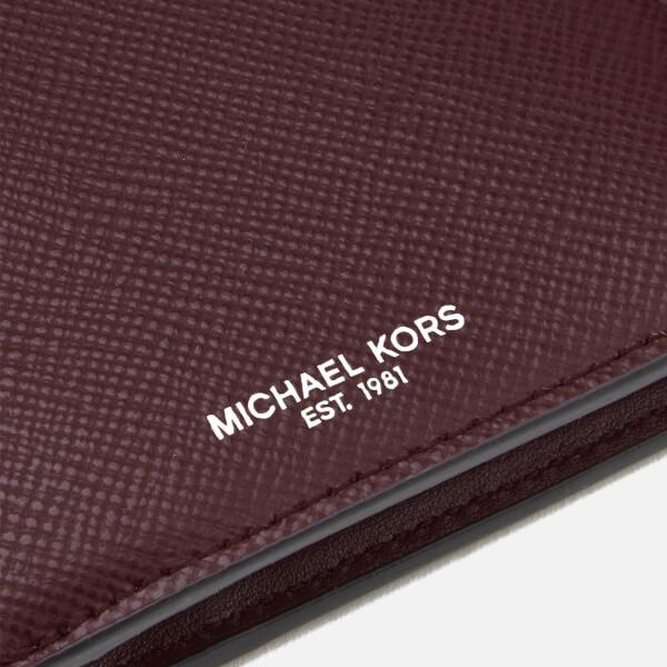 62afb46de9ea14 ... discount michael kors mens harrison billfold wallet rouge image 3 c1605  5b9c1 ...