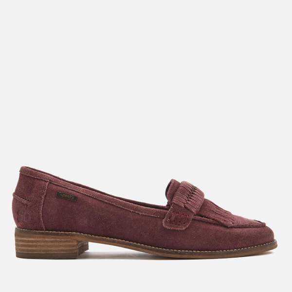 Superdry Women's Kilty Loafers - Oxblood